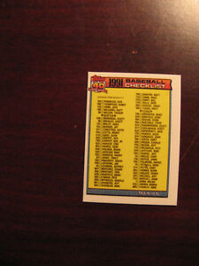 1991 Topps Toronto Blue Jays Baseball Mini Team Set Belleville Belleville Area image 6