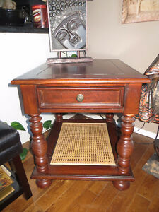West Indies living - The Spool-Turned Leg End Table pd over $800