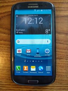 Samsung Galaxy SIII, excellent condition, unlocked ready to go.