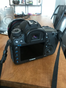Canon 5D Mark III body, very low shutter count