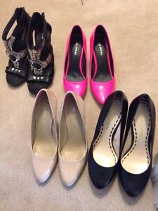 Womens Shoes Pumps Heels 10/10 Condition Size 7-8