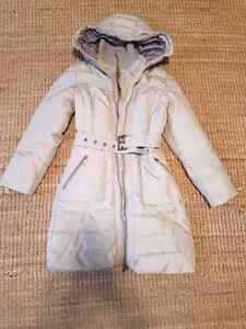 Zara down winter jacket, GUC, size small