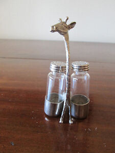 Giffare with Salt and Pepper Shakers