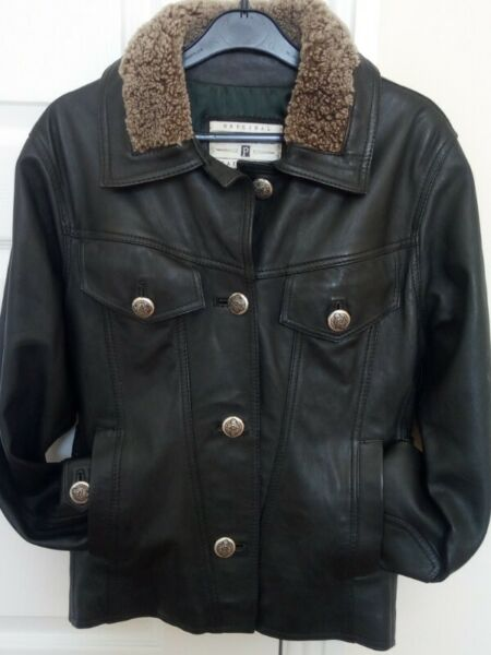 Ladies Real Leather Jacket