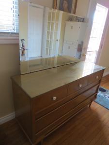Antique Bedroom dresser / mirror made by Gibbard Napanne Canada