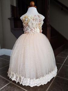 Custom Handmade Flower Girl Dresses