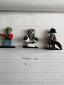 Lego series mini figures