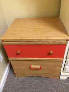 Solid wood night stand for sale