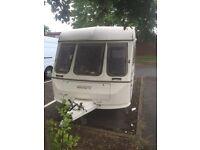 Swift challenger caravan twin wheeled spares or repair breaking