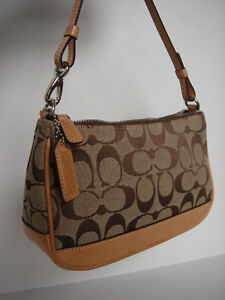 Authentic Coach Small Clutch Purse