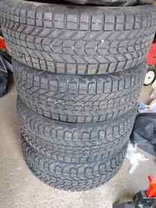 Winter tires with rims Kitchener / Waterloo Kitchener Area image 1
