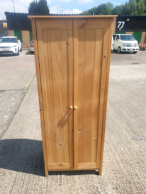 Solid wood wardrobe in very good condition - can deliver