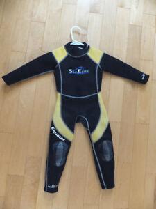 Kids Sea Elite full wetsuit