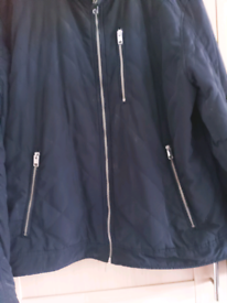 H&M Mens navy jacket Large