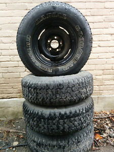 Goodyear Wranglers on rims