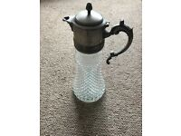 metal and place drink jug decanter