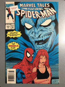 Comic Book Marvel Comics Marvel Tales Featuring Spider-Man #273