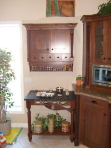Beautiful Maple Country Kitchen Cabinets