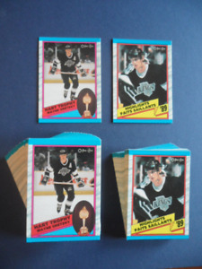 WAYNE GRETZKY CARD LOT