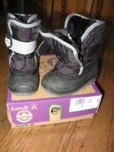 Kamik Winter Boots - Toddler Size 7 - BRAND NEW