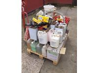 JOBLOT CAR CLEANING CHEMICALS