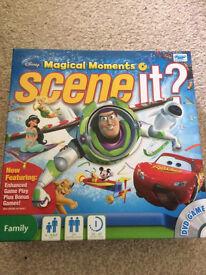 Disney scene it? - DVD interactive board game- toys
