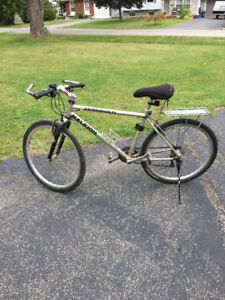 Two Raleigh bikes for sale