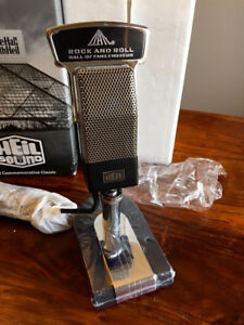 "Bob Heil ""Rock and Roll Hall of Fame"" Microphone"