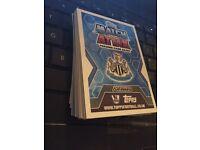 Match attax cards 42 of them