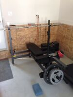 bench press northen light professionnel