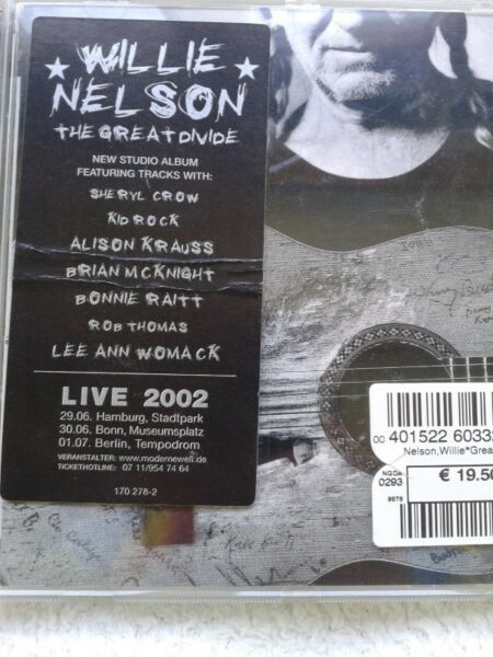 Willie Nelson - The Great Divide ,cd