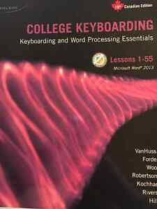 College Keyboarding Textbook -Administrative Documents 1