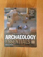 Archaeology Essentials second edition by Colin Renfrew and Paul