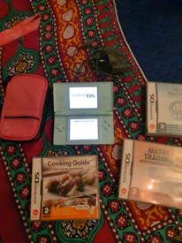 Nintendo ds lite with 6 games, carry case, and charger only £20