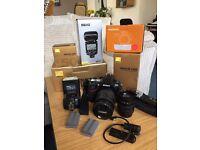 Nikon D700 full frame pro level DSLR kit