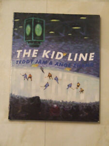 Famous Toronto Maple Leafs: The Kid Line by Teddy Jam