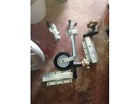 Heavy duty jokey wheel and suspension arms TRAILER