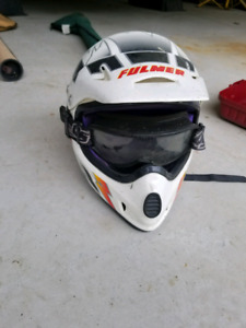 Fulmer ATV or Dirtbike helmet with goggles that attach! $20!