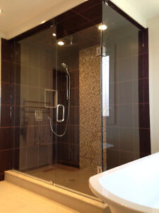 Frameless Shower Glass Doors Enclosures bathtubs - Mirrors etc. Kitchener / Waterloo Kitchener Area image 10