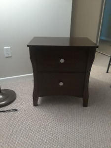 Night stand/bed side table (2) , each for 80$