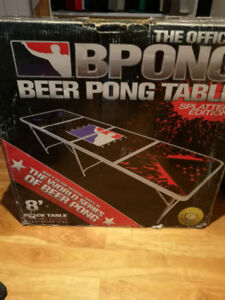 Pro specs beer pong table