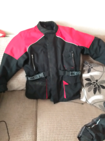 Gr8 bikers jacket large in mint condition