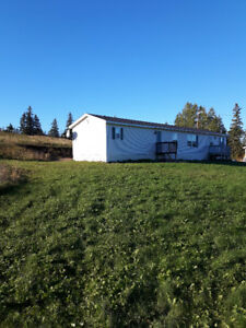 3 bdrm,2 bath with jacuzzi--mini home on 7 acres of land
