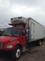 Freightliner reefer truck