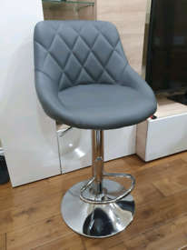 Brandnew Dark Grey Bar Stool x 1