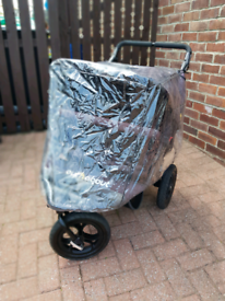 Out n about double twin nipper v4 jogger pushchair buggy