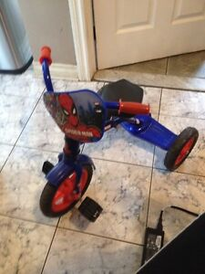 Tricycle spider man