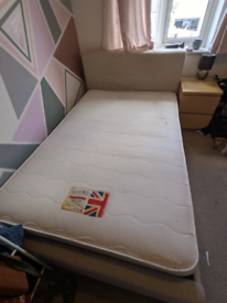 Small double bed (with mattress)
