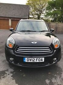 2012 Mini Countryman Cooper D All4 Chilli, fully loaded