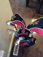 Callaway JR XJ golf clubs set LH $130